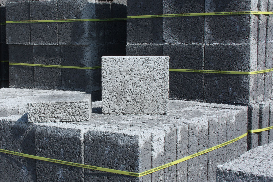 Concrete block 350x290x100mm